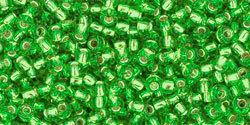 11/0 Round Toho Green s/l 27