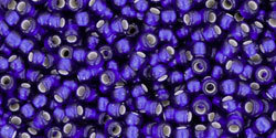 11/0 Round Toho Cobalt Blue s/l Matte 28df