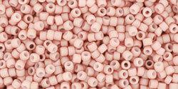 15/0 Round Toho Opaque Light Pink Matte 764