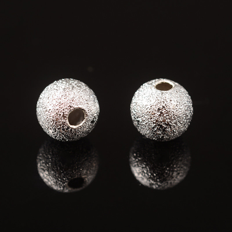 Stardust Bead Silver 6mm
