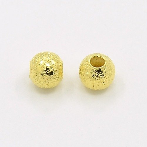 Stardust Bead Gold 4mm