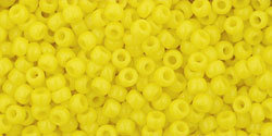 11/0 Round Toho Opaque Yellow 42
