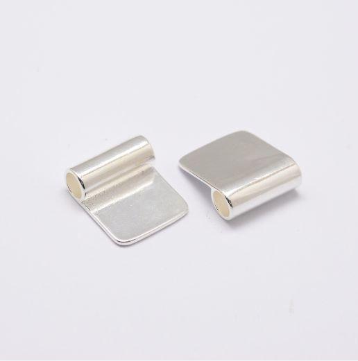 Glue on Bail Silver 16x11mm