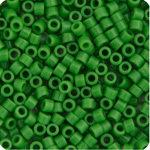 11/0 Delica Miyuki Opaque Green Pea 724