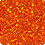 11/0 Delica Miyuki Orange s/l 45