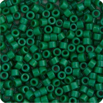 11/0 Delica Miyuki Opaque Jade Green 656