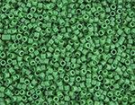 11/0 Delica Miyuki Opaque Kelly Green 655