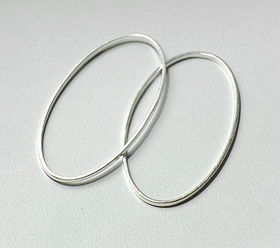 Oval Link Silver 10x25mm