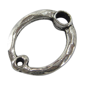 Oval Link 1 to 1 Antique Silver 20mm