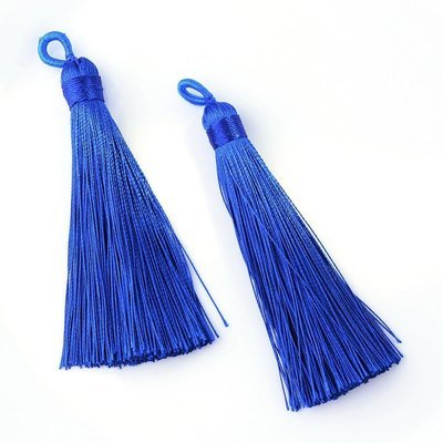 Blue Tassel  87x9mm