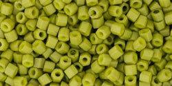 11/0 Hex Toho Opaque Pea Soup Matte 1624f