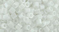 8/0 Hex Toho Opaque White Lustre 121