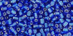 8/0 Hex Toho Cobalt Blue s/l  28