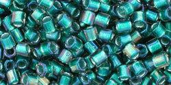 8/0 Hex Toho Aqua Jonquil Colour Lined 954