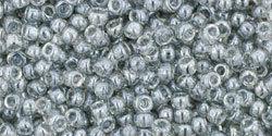 11/0 Round Toho Tr Black Diamond Lustre 112