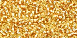 15/0 Round Toho Gold s/l 22