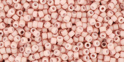 15/0 Round Toho Opaque Light Pink Matte 764