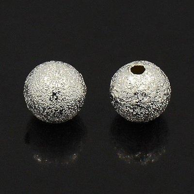 Stardust Bead Silver 8mm