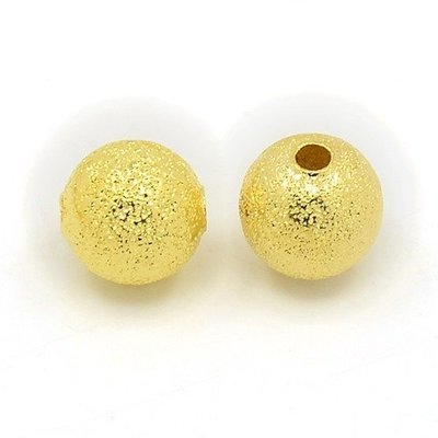 Stardust Bead Gold 8mm