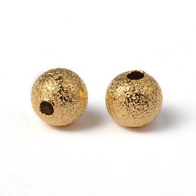 Stardust Bead Gold 6mm