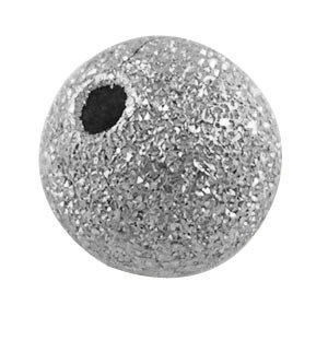 Stardust Bead Platinum 6mm