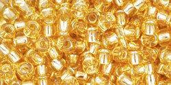 8/0 Round Toho Gold s/l  22