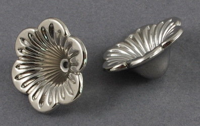 Flower Cap Platinum 20x10 mm