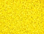 11/0 Delica Miyuki Opaque Yellow 721