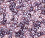 6/0 Round Czech Tr Purple Lustre Mix 136
