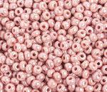 6/0 Round Czech OP Pink Pearl Lustre 1010