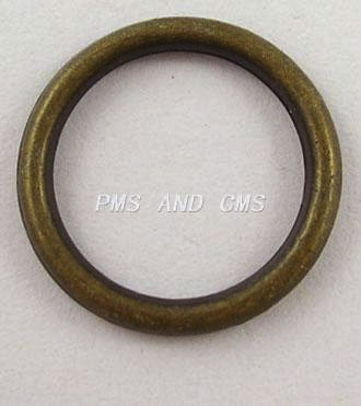 Circle Ring Antique Brass 18mm