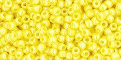 11/0 Round Toho Opaque Yellow Dandelion AB 402