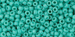 11/0 Round Toho Opaque Turquoise  55