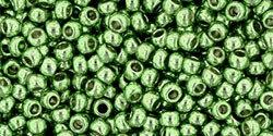 11/0 Round Toho Sea Foam Green Metallic  pf560