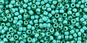 11/0 Round Toho Turquoise Metallic mt  pf578f