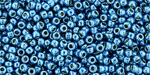 11/0 Round Toho Aqua Blue Sky Metallic  pf582
