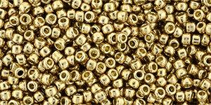 11/0 Round Toho Gold Fleece Metallic  pf592