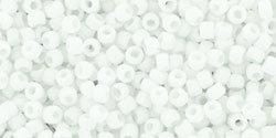 15/0 Round Toho Opaque White  41f