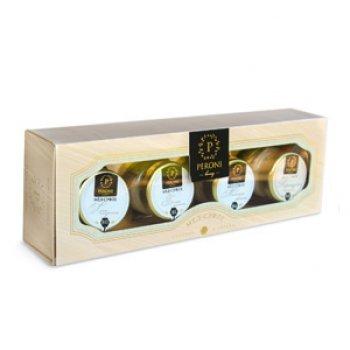 Набор меда-суфле Peroni Naturel: Липа Амурская, Белый Хлопок Молочный Цветок и Кориандровый
