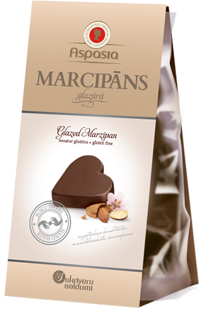 Марципан в шоколаде Skriveru Saldumi