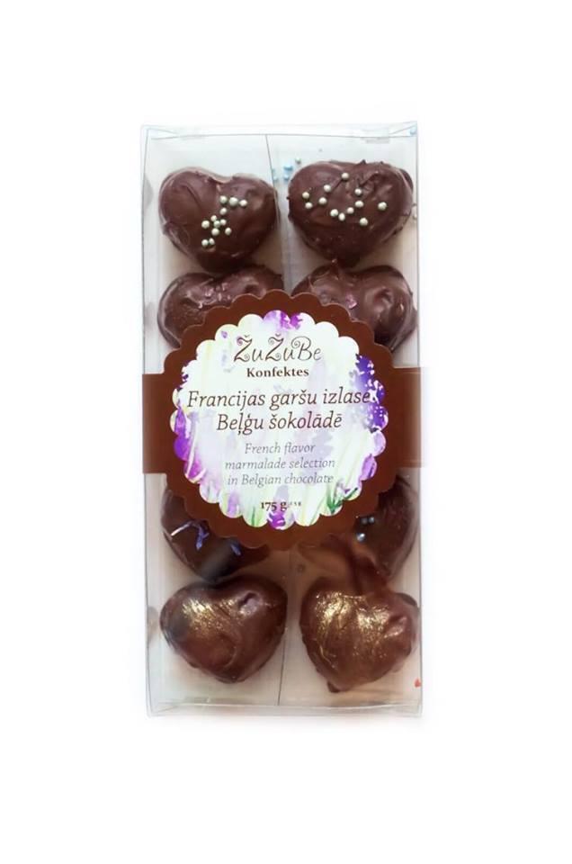 Мармелад Zu Zu Be Коллекция Французских Вкусов в Бельгийском Шоколаде