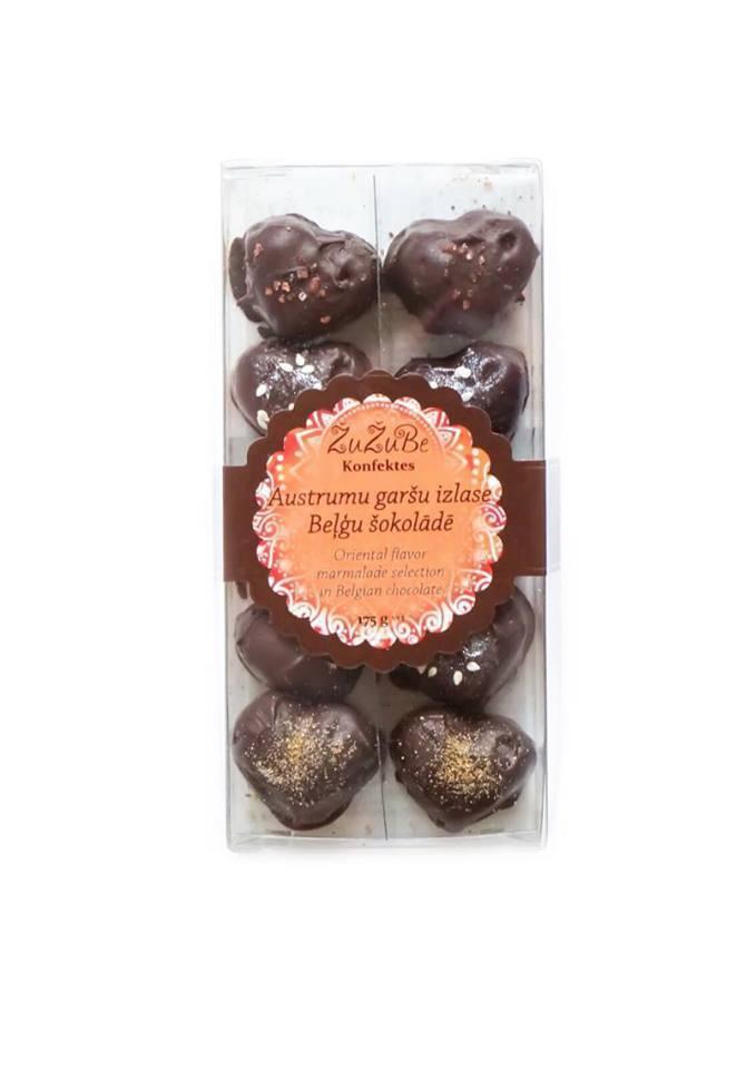 Мармелад Zu Zu Be Коллекция Восточных Вкусов в Бельгийском Шоколаде