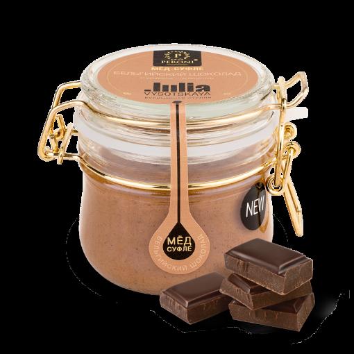 Мед-суфле Peroni Бельгийский Шоколад с Фундуком