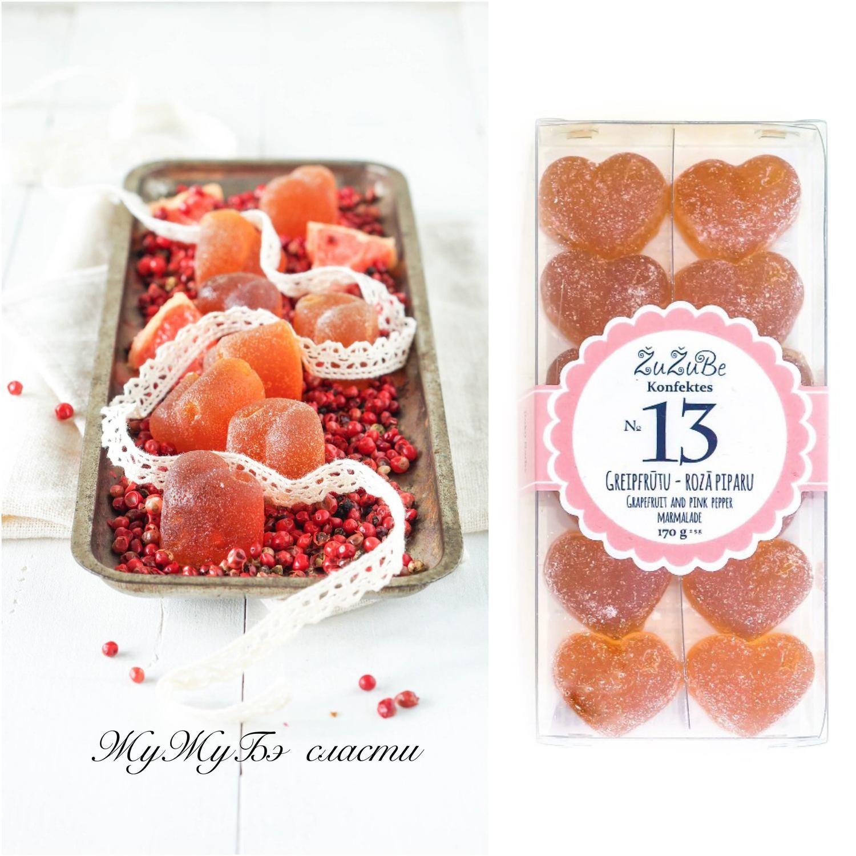 Мармелад Zu Zu Be Грейпфрут с Розовым перецем