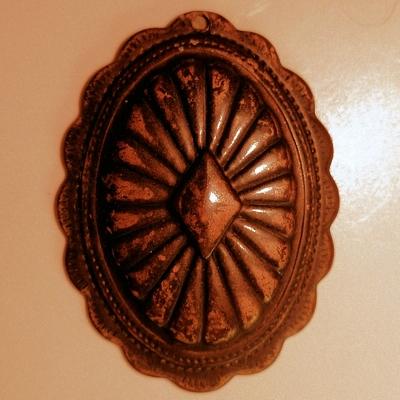 Oval Concho