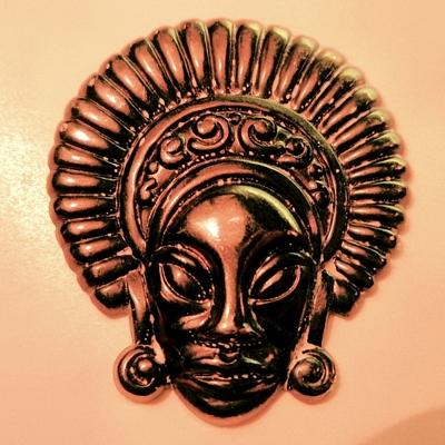Tribal Face in Headdress
