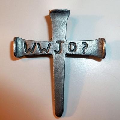 WWJD Cross