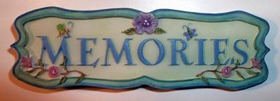 Memories Plate