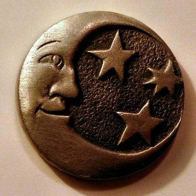 Celestial Moon & Stars
