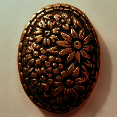 Floral Oval